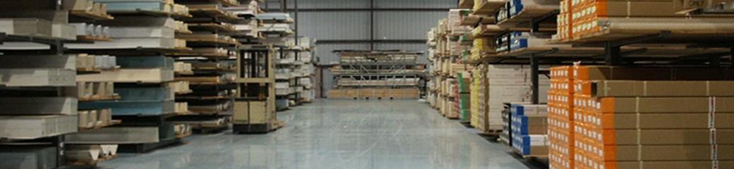 Наливной пол для складских помещений
