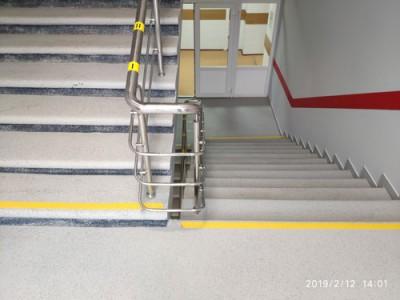 Востановление лестниц МГПУ